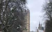В парламенте Британии вспыхнул пожар (видео)