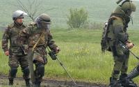 Волынские саперы больше недели ищут бомбы возле станции «Цмин»
