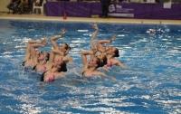 Сборная Украины по артистическому плаванию выиграла две золотые медали