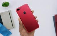 Красный iPhone 7 прошел испытание огнем (видео)