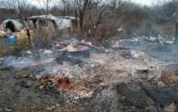 Под Львовом на свалке нашли сгоревший труп подростка