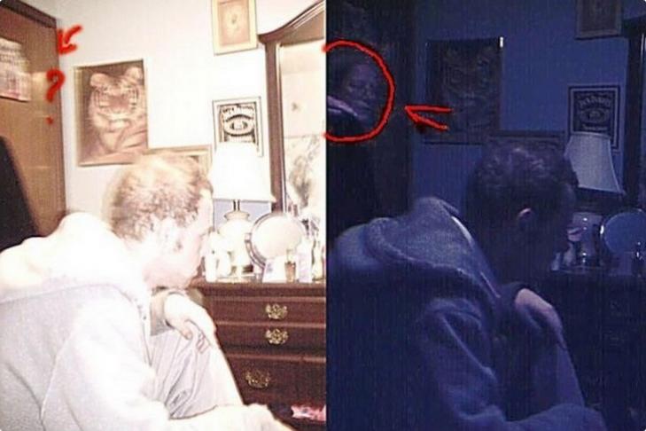 Призрак женщины в очках напугал пользователей социальной сети (ФОТО)