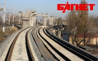 Движение поездов под Киевом заблокировано