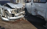 Автомобльное месиво случилось в Одессе (фото)