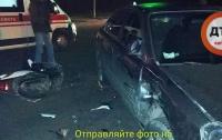 Из уха текла кровь: в Киевщине произошло серьезное ДТП
