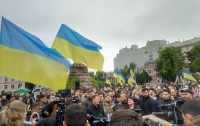 Ляшко на Софійській площі подякував 90-річним ветеранам за мирне небо і загадав бажання