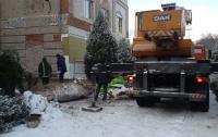 Бетонная плита раздавила двух рабочих в Черниговской области