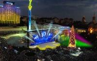 Новогодняя ночь на Майдане Независимости: программа вечера