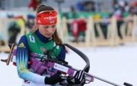 Украинка стала вице-чемпионкой Европы по биатлону