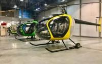 В Интернет попали фото новых украинских вертолетов