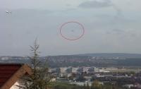 В Гамильтоне видели странное НЛО прямоугольной формы