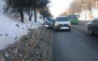 Необычное ДТП на Клочковском спуске в Харькове