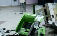 Неизвестные взорвали банкомат в Днепропетровской области
