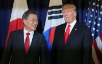 Трамп встретился с Мун Чжэ Ином в Белом доме