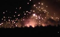 Продолжаются одиночные взрывы на армейских складах в Калиновке