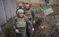 Зеленский переночевал на Донбассе с бойцами