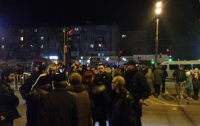 Скандал в Днепре: возмущенные жители перекрыли дорогу