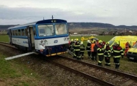 Поезда не поделили железную дорогу в Чехии