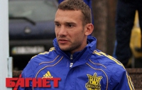 Во время матча с «Рубином» Шевченко наорал на Семина