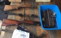Одессит обустроил в гараже оружейную мастерскую