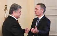 Порошенко и генсек НАТО провели важную встречу (видео)