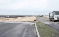 Хорошую дорогу строят на Днепропетровщине