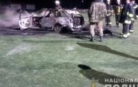 Подожгли автомобиль местного депутата