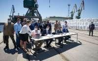 Украина сдала порт в концессию