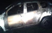 Под Харьковом подожгли авто бизнесмена