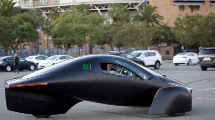 Объявлено о выпуске электромобиля, который будет заряжаться от солнца