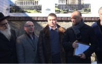 За сприяння нардепа Максима Полякова відбулось відкриття містка Коенів в місті Умань