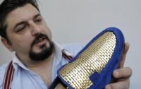 Итальянец создал первые в мире туфли из золота за 6 миллионов
