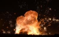 Взрыв в парке Китая: двое погибших, семеро - под завалами