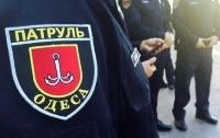 Девушку с советской символикой поймала полиция в Одессе