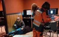 Ножевое ранение нанесли посетителю столичного зала игровых автоматов