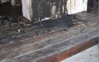 На запорожском курорте пытались поджечь базу отдыха