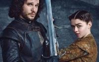 Джон Сноу и Денейрис в фотосессии сериала «Игра престолов» (ФОТО)