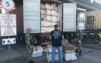 В порту Одессы обнаружено контрафактная продукция на 10 млн гривен (видео)