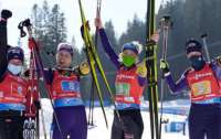 ЧМ по биатлону: Украина завоевала бронзу в женской эстафете