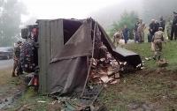 В Армении перевернулся грузовик с военными, есть жертвы