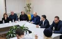 Зеленский встретился с родственниками погибших в авиакатастрофе