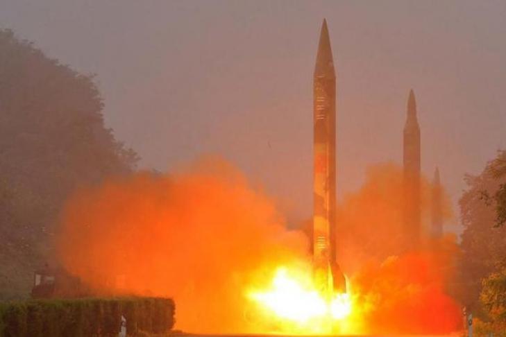 Общие учения вответ на запуск ракеты КНДР провели Япония иСША