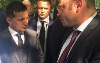 Зеленского поблагодарили за борьбу с коррупцией в Умани (видео)