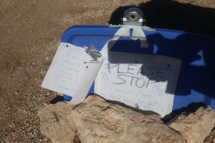 Студентка изСША провела впустыне 5 дней из-за ошибки навигатора