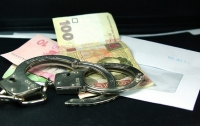 Херсонские полицейские на взятке 70 тыс. грн поймали госисполнителей