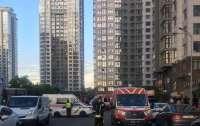 В многоэтажке в центре Киева вспыхнула баня