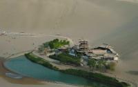 Осовремененный оазис в пустыне Китая (ФОТО)