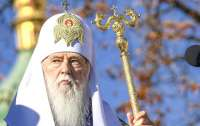 Филарет попробует помочь украинскому воину вместе с Папой Римским