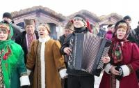 Сегодня в Вышгороде проводят зиму