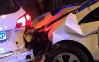 Погоня в Харькове: разбиты несколько машин, полицейскую увезла